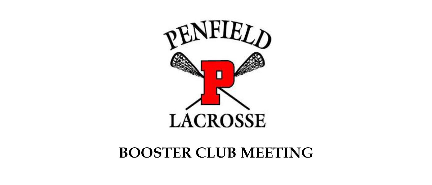 Booster Club Meeting-April 28th, 2021