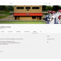 Penfield Lacrosse is Live on YouTube!